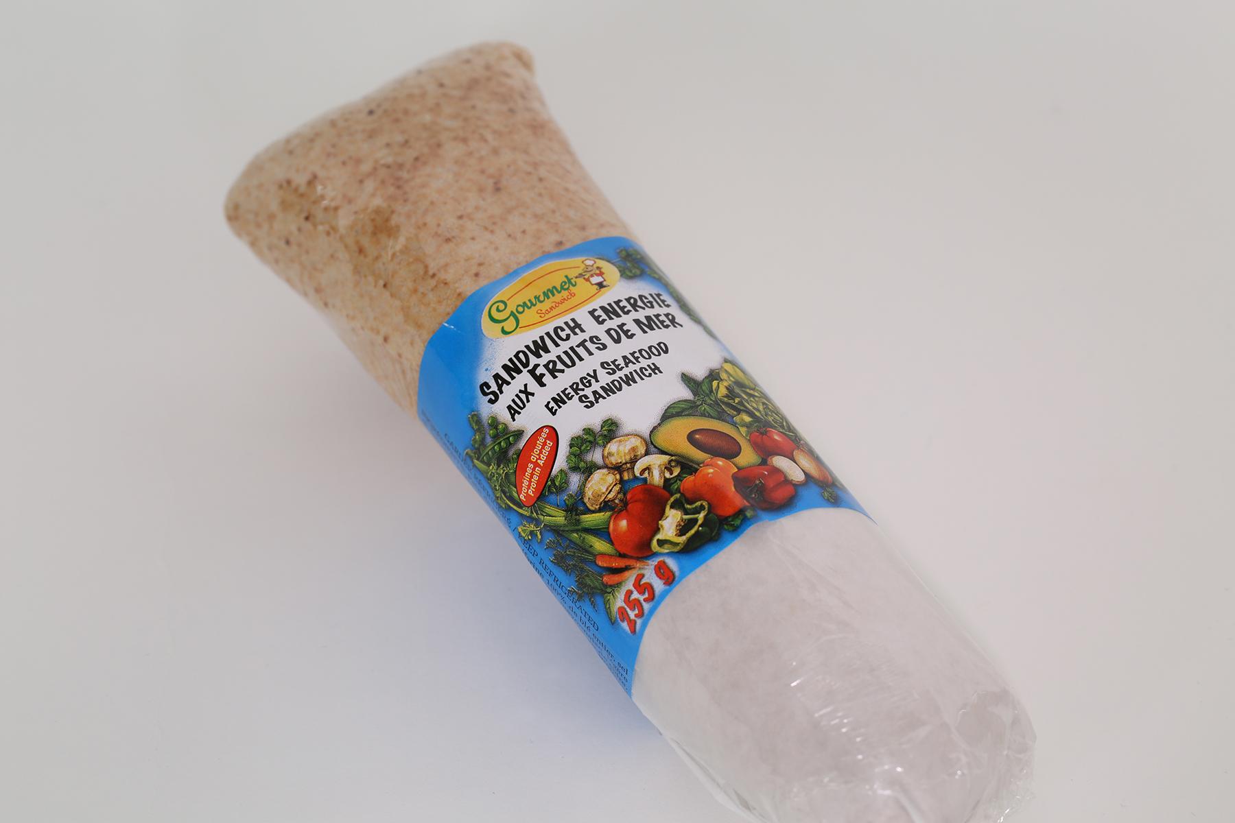 Energy Seafood Sandwich