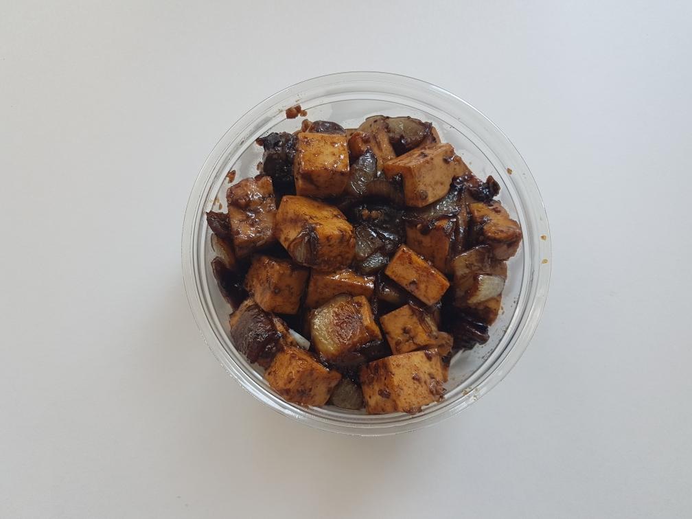 Tofu Mashroom Salad