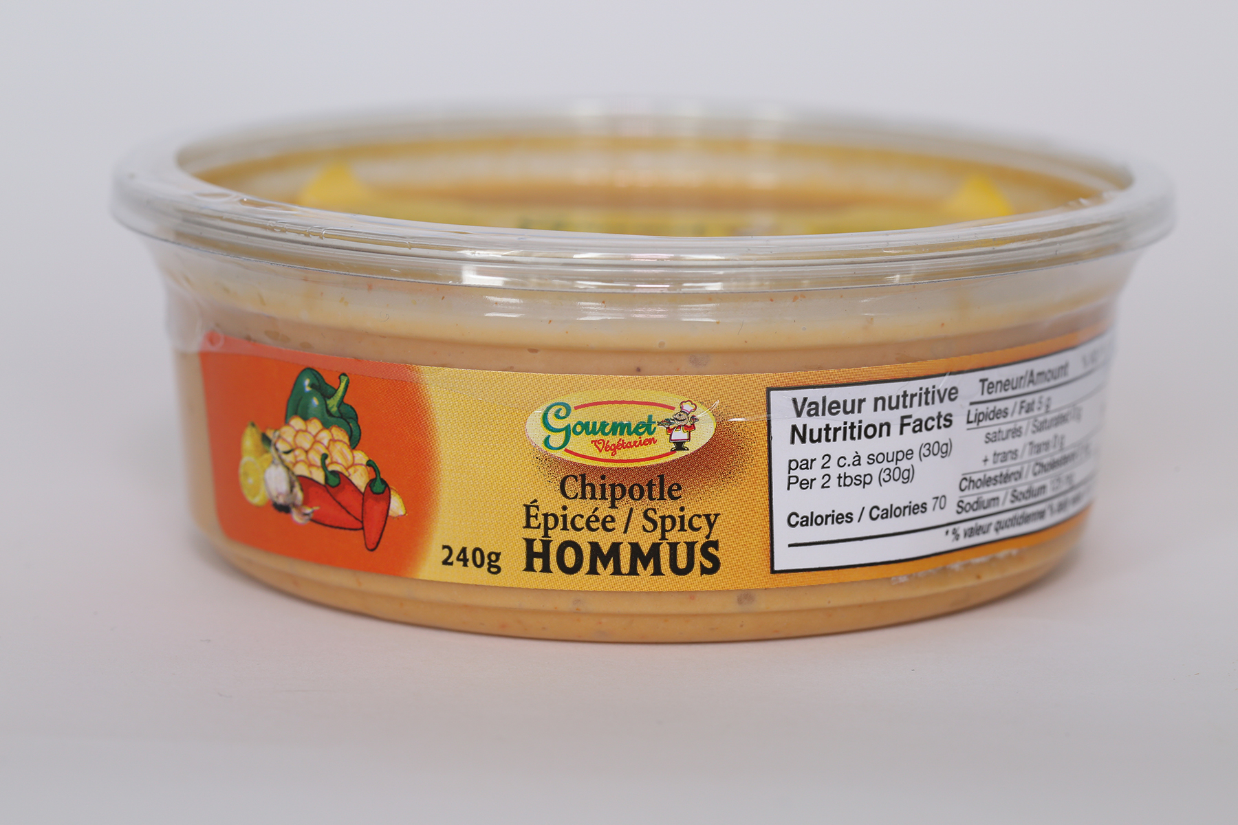 Spicy Chipotle Hommus
