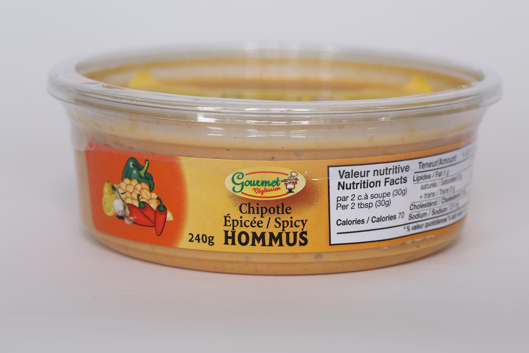 Spicy Chipotle Hommus